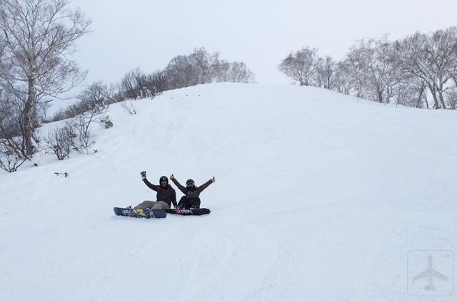 Snowboarding (and skiing) is fun!