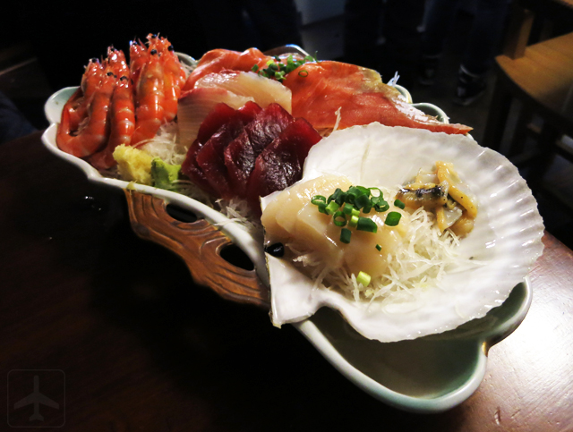Sashimi at Ezo Seafood