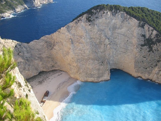 Greece Beach Descendants Of The Sun Navagio