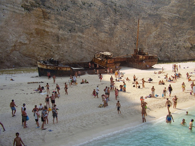 Navagio Beach Image Credit Greece Descendants Of The Sun