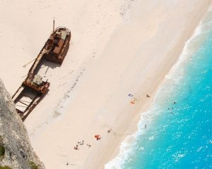 "Navagio Beach: The Shipwreck Beach in ""Descendants of the Sun"".. and other beaches at Greece"