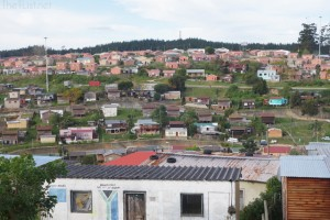 A Visit to a Township at Knysna, South Africa