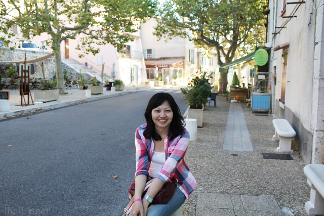 At the town of Aiguines