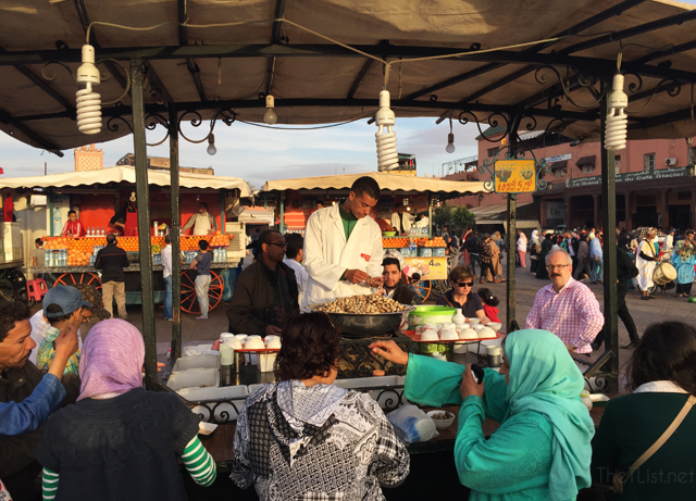 The Marrakech Foodie Trail at Djemaa el-Fna Square