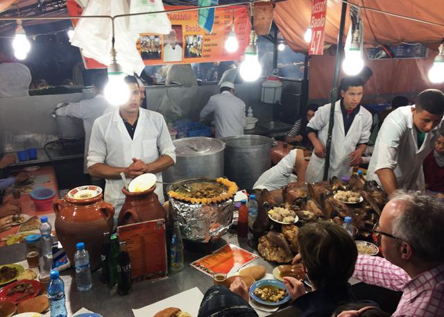 Marrakech food