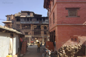 The Boy At Bhaktapur